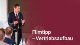 Unternehmer Ferdinando Piumelli gibt einen Filmtipp zum Aufbau des Vertriebs