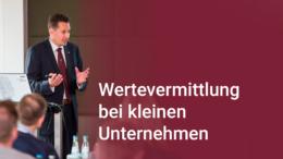 Unternehmer Ferdinando Piumelli spricht über die Wertevermittlung in kleinen Unternehmen