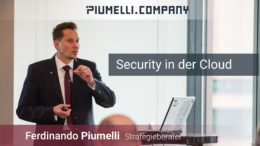 Ferdinando Piumelli - Security in der Cloud