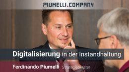 Ferdinando Piumelli - Digitalisierung in der Instandhaltung